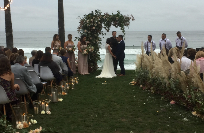 A Ceremony at Scripps Seaside Forum